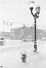 Film Photography: Snowfall at Four Corners, Orchard Park, NY (NFE_0058) (masinka) Tags: film analog bw photography fourcorners orchardpark ny newyork winter snow snowfall hydrant intersection snowstorm blizzard weather wny 716 lamp street nikon fe ilford delta 100 xtol