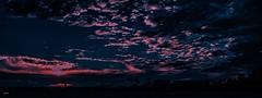 Pink n Blue Sunset-- exp. (beachpeepsrus) Tags: beach beachfront water dusk clouds color california city westcoast shore
