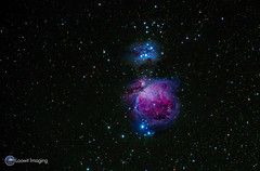The Orion Nebula 'wide-angle' (Loowit Imaging - Steve Rosenow, Photographer) Tags: space science astronomy astrophotography deepsky deepspace meade meadelx200 nikon nikond5500 nebula nebulae messier messierobject charlesmessier messiercatalogue m42 messier42 orionnebula ngc1973 ngc1975 ngc1977 newgeneralcatalogue runningmannebula orionssword astrometrydotnet:id=nova1901432 astrometrydotnet:status=solved