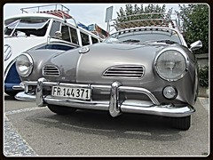 VW Karmann Ghia Typ 14, 1968 (v8dub) Tags: vw karmann ghia typ 14 1968 kg type volkswagen schweiz suisse switzerland fribourg freiburg german pkw voiture car wagen worldcars auto automobile automotive aircooled old oldtimer oldcar klassik classic collector