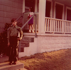 Front Porch (~ Lone Wadi ~) Tags: frontporch house residence outdoors candid retro 1960s
