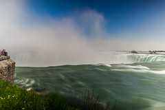 waterfall view (kderricotte) Tags: niagarafalls canada waterfall water longexposure view scene sky clouds mist canon5dmarkii 24105mm