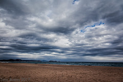 PALS BEACH (TONY-BUENO - Barcelona) Tags: canon eos 5d 5dmkii 24105f4is playa beach storm costa winter sky