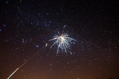 Star flower (kondex vs mechagodzilla) Tags: stars starry sky fireworks long exposure night fiery rocket explosion