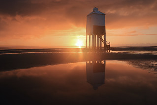 Burnham Lighthouse Sunset