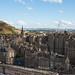 Views from Scott Monument over Edinburgh
