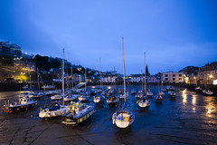 Harbour in Ilfracombe, Devon (Tung..Nguyen) Tags: blue dawn boat harbour devon hour ilfracombe