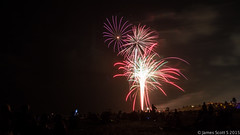 20150704 70D Delray Beach FL fireworks 58 (James Scott S) Tags: ocean holiday night canon scott james us sand exposure raw day unitedstates florida tripod 4th july s celebration shutter fl independence fourth delayed ef app delraybeach 24105 70d lrcc