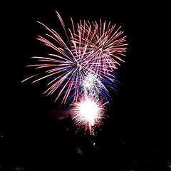 Fireworks in France (loux.marvin) Tags: france colors fireworks spectacle obernai nx 927mm samsungnxmini