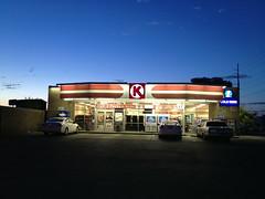 CIRCLE K  LAS VEGAS, NEVADA  JULY 5, 2015   (Agborges63) Tags: blue k circle magic hour july5 nevadausa 2015lasvegas