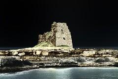[AA0824]* 2015/08/01_005 (sdb66) Tags: sea italy costa tower water mediterraneo italia mare torre outdoor le scogliera rocavecchia scoglio marmediterraneo nikond200 costaadriatica mareadriatico melendugno nikkorafs70300mmf4556gifed