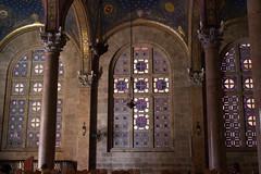 Garden of Gethsemane, Church of the Agony (marylea) Tags: church architecture israel jerusalem byzantine mountofolives churchofallnations churchoftheagony churchofgethsemane antoniobarluzzi