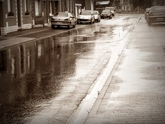 Rue du Chevalier de la Barre in the rain (april-mo) Tags: france rain pluie nord somain villerscampeau