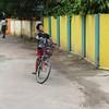 Cheer (Nagarjun) Tags: bicycle kerala cycle barefoot learning kiran kochi kanishka kinu aluva conventroad2 paravurjunction paravurkavala