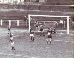 1985 West of Scotland Cup v Whitletts Vics (Gordon McCreath) Tags: football fitba soccer voetball calcio fusball stadium stadion footballground fusballplatz irvinemeadowxi irvinemeadow medda meadow irvine ayrshire scotland meadowpark 1985 whitlettsvictoria woscup