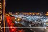Jemaa el-Fnaa - Marrakesh, Morocco (Naomi Rahim (thanks for 3 million visits)) Tags: marrakesh marrakech morocco africa northafrica 2016 المملكةالمغربية مراكش travel travelphotography nikon nikond7200 wanderlust night market jemaaelfnaa lowlight street streetphotography shops legrandbalconducaféglacier souk rooftop