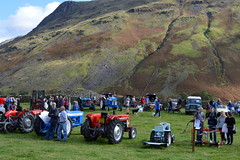 Show off your tractor (Tony Worrall) Tags: wasdale head show shepherds meet cumbria cumberland lakes farm farmer event village scene festival rural countryside country sunlit outdoors england northern uk update place location north visit area county attraction open stream tour welovethenorth northwest unitedkingdom candid tractors scenery scenic hills