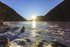 Segrino-il lago ghiacciato