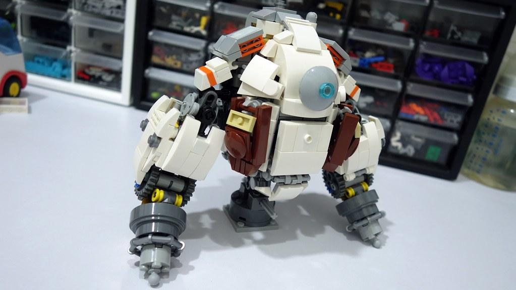 Atlas Titanfall Lego