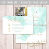 Layered Photoshop Template (daphnepopuliers) Tags: psd photoshop adobe template businesscard callingcard visitecard photocard business marketing