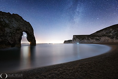 Venus through the arch of Durdle Door (www.ollietaylorphotography.com) Tags: beach europe astrophotography coast darksky dorset dreamscape durdledoor england jurassiccoast landmark landscape landscapephotography lulworthcove milkyway nightphotography nightsky nightskyphotography nightscape planets sea seascape seaside sky stars tuition uk venus workshops