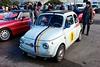 Fiat 595 Abarth, Piazzale Michelangelo, Firenze (mappett) Tags: firenze leica m9 summilux 35mmf14 asph piazzale michelangelo fiat 595 abarth