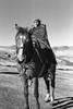 Basotho Rider | Lesotho (tender urbanities) Tags: agfaphoto apx100 pentax mx smc pentaxm 128 28mm film flickr people mountainkingdom khotsopulanala basotho sotho southernafrica africans bw basothoblanket horses agfaphotoapx100 pentaxmx smcpentaxm12828mm lesotho