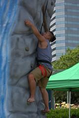 Rock Wall Climbing (swong95765) Tags: climb rockwall guy man climbing attempt stuck difficult