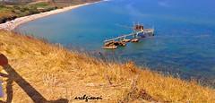 altro trabocco (archgionni) Tags: mare sea blue blu onde waves erba grass spiaggia beach sabbia sand vacanze vacations caldo hot estate summer abruzzi italia italy