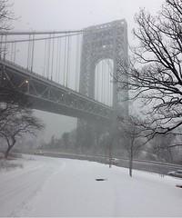 (True_Positivity) Tags: ofernandeznyc cold greatness gorgeous washingtonheights georgewashingtonbridge cool nyc life ny newyork snow gwb