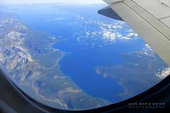 Vol au dessus du lac Khovsgol - Mongolie [Explore] (jmboyer) Tags: asie asia mongolie mongolia lac vol khovsgol lackhovsgol avion eau