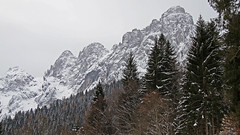 Snowfall on the Cimonega group (Dolomites) (ab.130722jvkz) Tags: italy trentino veneto alps easternalps dolomites vettefeltrinegroup mountains winter snowfall
