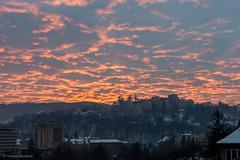 Sunset time! (osamot) Tags: sunset epicsunset epicsundown redclouds sunsettime românia brașov apusul tramonto