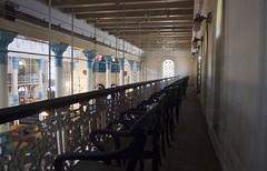 Balcony inside Beth-El Synagogue - Kolkata, India (Indrajit Das) Tags: photography jew calcutta bethel photowalks jewishcommunity ezrastreet magendavidsynagogue bethelsynagogue calcuttaheritagebuilding synagoguesofkolkata davidjosephezra eliasshalomgubbay jewishcommuinity kolkatajews