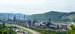 Follansbee WV Coke Plant (brutus61534) Tags: industrial steel westvirginia ohioriver cokeplant follansbee