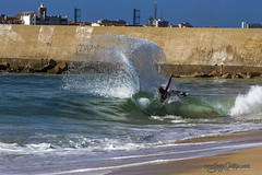 Rafael Santos / Molhe Leste (Jorge Ibez) Tags: ocean travel sea beach portugal water coast waves wave shore skim skimboard jorgeibezcom jorgeibez