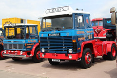 I Craig pair (NTG's pictures) Tags: show heritage classic museum vintage centre sunday commercial 111 motor warwickshire scania gaydon aec mandator oce829h 14june2015 rfd312w