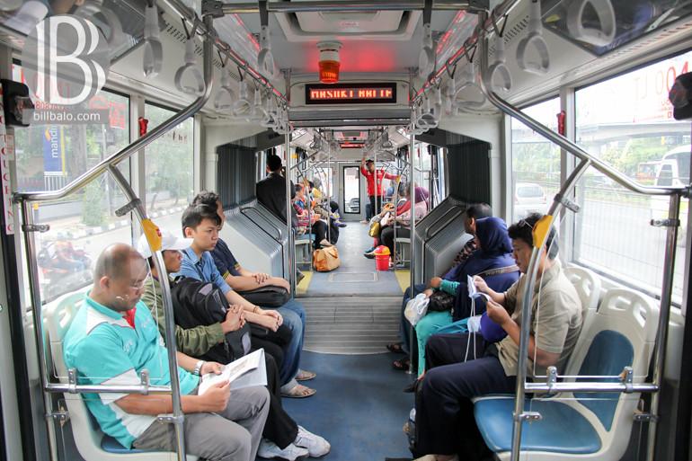 2Xe buýt ở Jogja mang nét khác lạ so với các quốc gia trong khu vực Đông Nam Á