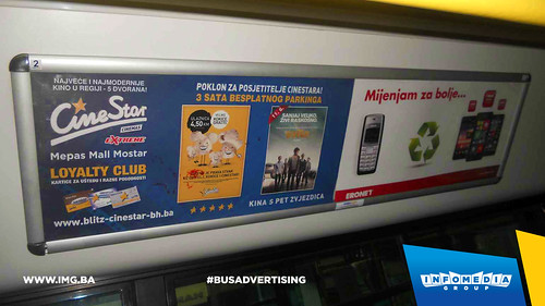 Info Media Group - BUS Indoor Advertising, CineStar 06-2015