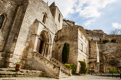 Church in Les Baux-de-Provence, France