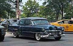 1954 Cadillac Fleetwood Sixty Special (RudeDude2140a) Tags: blue classic car sedan 1954 cadillac special series 60 sixty fleetwood