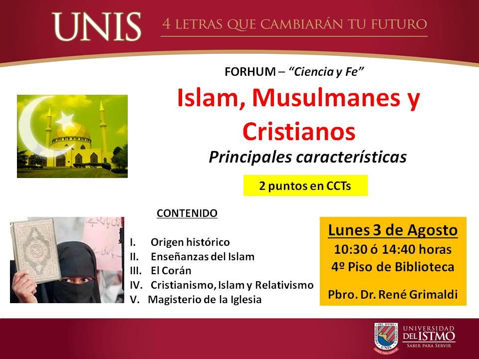 FORHUM 2.3-Islam y Cristianismo