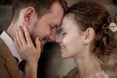 O&K (lena_dolgova) Tags: wedding light love smile groom bride engagement couple outdoor weddingphotography
