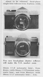 Yashica Pentamatic...FIRST LOOK!