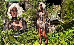 jungleElfShirlsCollage (shirley Uborstein) Tags: life fashion female photography blog elf fantasy jungle second warrior elysion