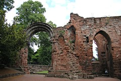 St John the Baptist , Chester (In Memory of ColGould) Tags: ruins arch cheshire chester walls stjohnthebaptist