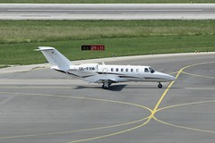 OE-FXM (IndiaEcho Photography) Tags: vienna canon eos austria airport aircraft aviation aeroplane civil flughafen cessna airliner vie airfield citationjet cj2 schwechat loww 1000d oefxm