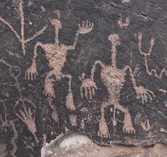 Petroglyphs / Petrified Forest National Park (Ron Wolf) Tags: anasazi anthropology archaeology nationalpark nativeamerican petrifiedforestnationalpark puebloan anthromorph anthropomorph digitated panel petroglyph rockart superimposition theft vandalism arizona