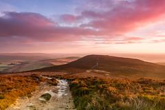 Simonside Sunrise (Chris J Gill) Tags: landscape canon7d canon1022mm simonside sunrise winter