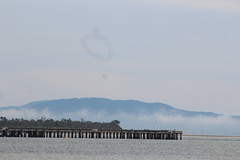 The Long Jetty   Long Jetty Beach, Welshpool Port (natalia.bird_nerd) Tags: landscape longjetty wilsonspromontorymountains longjettybeach welshpool welshpoolport australia